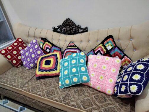 Phoebe Cushion Crochet Pattern